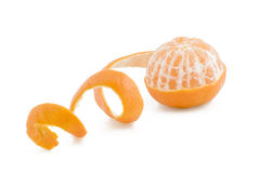 слезли tangerine Стоковые Фотографии RF