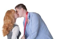 слепо поцелуй стоковые фото