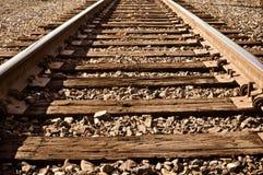 след железной дороги Стоковая Фотография
