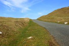 след дороги одиночный Стоковая Фотография