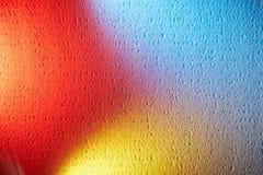 Сливать 3 цвета на текстурной предпосылке стоковое фото