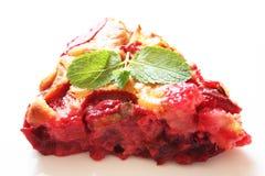 слива торта Стоковое Изображение