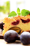 слива торта Стоковая Фотография RF