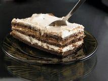 сливк торта Стоковая Фотография RF