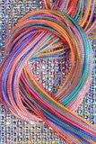 Слинг цветастых шнуров Стоковые Изображения RF