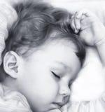 слипер ребенка стоковое изображение rf