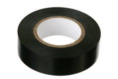 слипчивая черная изолируя лента Стоковые Изображения RF