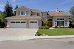 слободское исполнительного родного дома большое роскошное Стоковая Фотография RF