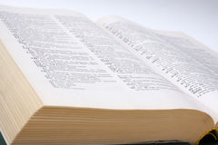 словарь англорусский Стоковая Фотография RF