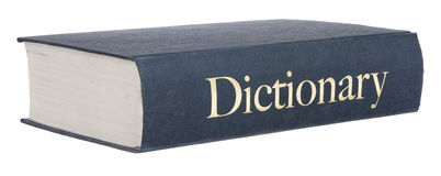 словарь стоковое изображение rf