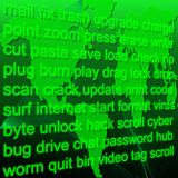 слова компьютера Стоковые Изображения RF
