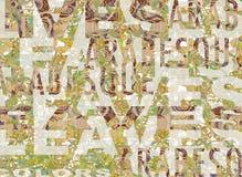 слова листьев бесплатная иллюстрация