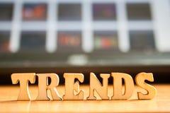 ` Слова отклоняет ` сделанное деревянных писем стоковые фотографии rf