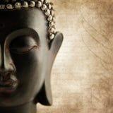 слова grunge Будды Стоковое Изображение