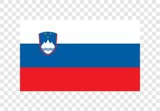 Словения - национальный флаг иллюстрация вектора