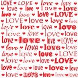 слово влюбленности Стоковое Изображение RF