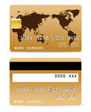 слово карты кредита карточки backgr Стоковое Фото