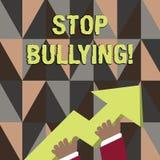 Слово писать задирать стопа текста Концепция дела для стопа агрессивное поведение среди школы постарела фото детей  бесплатная иллюстрация