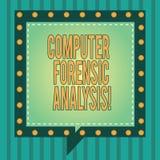 Слово писать компьютеру текста судебнохимический анализ Концепция дела для доказательства найденного в компьютерах и носители зап стоковая фотография rf