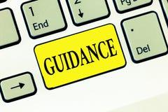 Слово писать наведение текста Концепция дела для совета или информации направленных на разрешая проблему или затруднение стоковые изображения