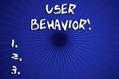 Слово писать поведение потребителя текста Концепция дела для фокусов на деятельности при потребителя в отличие от статического ин иллюстрация вектора