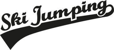Слово прыжков с трамплина Стоковое Изображение RF