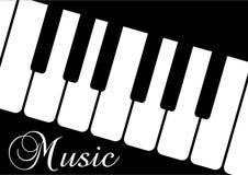 слово рояля нот blac Стоковая Фотография RF