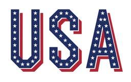 слово США Стоковые Изображения