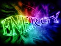 слово энергии Стоковое Изображение