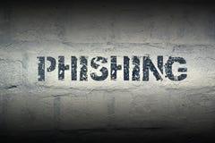 СЛОВО GR Phishing Стоковые Фотографии RF