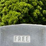 слово gravestone Стоковые Изображения