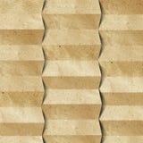 сложенная рециркулированная бумага Стоковые Фото