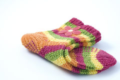 сложенные носки Стоковые Фото