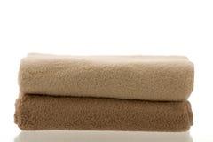 сложенные полотенца 2 Стоковые Фото