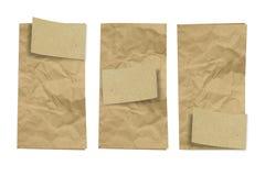 сложенный бумажный сбор винограда Стоковое Изображение RF