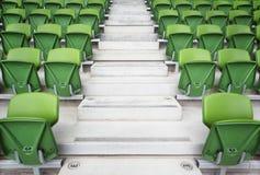сложенный стадион мест рядков Стоковое фото RF