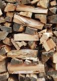 сложите древесину Стоковое Изображение