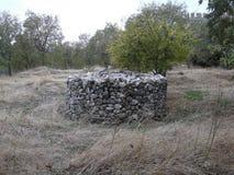 Сложная куча камней стоковые изображения rf