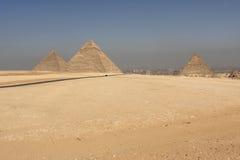 сложная пирамидка giza Стоковая Фотография RF