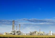 сложный рафинадный завод части Стоковая Фотография