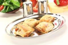 слойка перцев печенья колокола заполненная сыром Стоковая Фотография RF