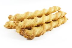 слойка печенья хруста сыра Стоковые Изображения RF