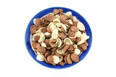слойка cornflakes какао хлопьев Стоковые Изображения RF