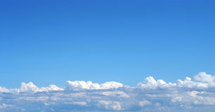 слой облаков Стоковое Изображение