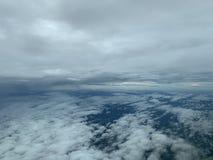 Слой облаков стоковые изображения