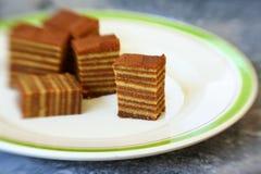 слой торта Стоковые Фотографии RF