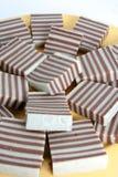 слой торта Стоковая Фотография