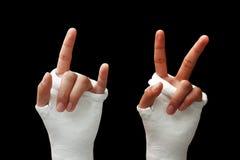 сломанная рукоятка 04 Стоковое Изображение