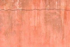 сломанная старая стена Стоковая Фотография