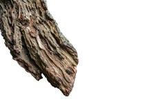 Сломанный пиломатериал дерева на изолированный стоковое фото rf